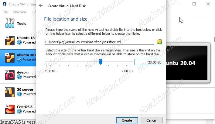 Create Virtual Storage-min