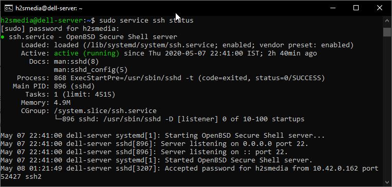 Enable-OpenSSH-server-on-Ubuntu-20.04