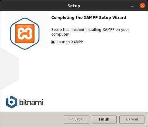 XAMPP installed on Ubuntu Linux