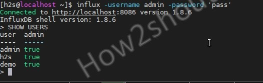 Secure InfluxDB on AlmaLinux or Rocky